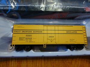 Atlas HO #20001622 TM 40' Plug-Door Boxcar Fruit Growers Express RBNX #80566