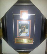 Wayne Gretzky Edmonton Oilers NHL Hockey Museum framed Rookie card