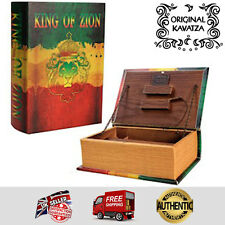 Original Kavatza Deluxe Wooden Portable Rolling Box Book - King of Zion - Small