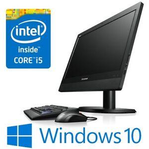 """Lenovo ThinkCentre M93z AiO Intel i5 4570S 8G 500G 23"""" FHD Win 10 Pro CAM"""