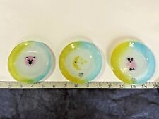 Trinket Bowl LOT, Art Glass Dishes, FOURTEEN - Hand made, WHIMSICAL, Italy,  NWT