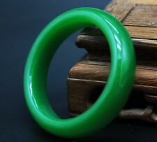 Big Imperial Green Jade Jadeite Bangle Bracelet natural chinese antique stone