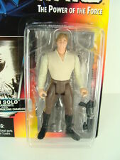Star Wars 1996 Han Solo in Carbonite w/ Freeze Chamber POTF Figure Red 00 Card