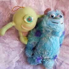 mike sully soft plush cuddly sulley toys top set Monsters inc university figure