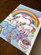 Lisa Frank UNOPENED Markie Greeting Card Pack -2 Cards & Envelopes- Unicorn Wish