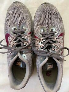 Nike Zoom Winflo 5 Gray Berry Women's Size US 8.5