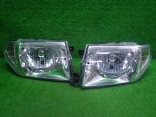 JDM 1999 Mitsubishi PAJERO io H76W H77W Headlights Lights Lamps Chrome Set OEM