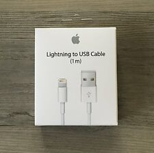 Cable USB chargeur Apple Lightning pour iPhone 6s/6/5/5s/5c/SE/7/8 Plus iPad 1M