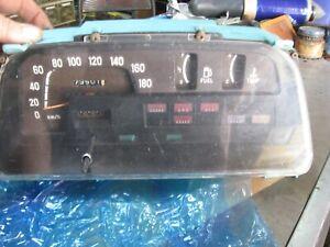 for Subaru Brat / Pick Up 1978 - 1981 1400cc - 1600cc Speedometer Clocks + Wires