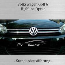 VW Golf 6 /IV - 3M Chrom-Leisten Kühlergrill Oben Zierleisten Chromleiste