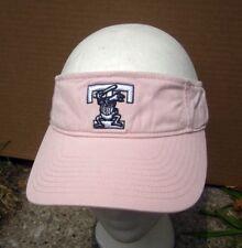 TOLEDO MUD HENS cap women's sun visor Muddy pink baseball hat Tigers