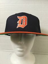 Navy Blue TISA Detroit Tigers Snapback