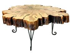 Live Edge Cypress Coffee Table