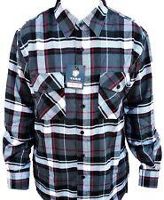 Mens Yago Longsleeve Button Down Plaid Flannel Collar Shirt