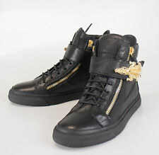 New. GIUSEPPE ZANOTTI London Lindos-Vague Sneakers Shoes 8 US 41 EU $1395