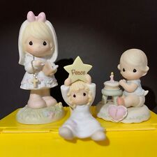 Lot of 3 Vintage Precious Moments Figurines