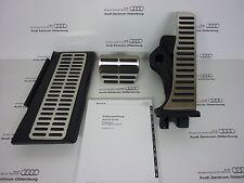 Original Audi Pedalkappen- Set aus Edelstahl für Automatik/ S-tronic, Audi Q3