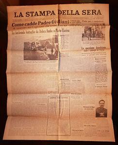 A.O.I.*08/02/1936 *COME CADDE PADRE GIULIANI RACCONTATO DAI LEGIONARI*N.3415
