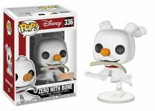 Zero with Bone The Nightmare Before Christmas pop! Disney #336 Vinyl personaje funko