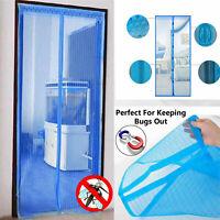 mosquitera magnetica mesh cortina magnetic puerta anti mosquitos insecto