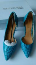 Women's Head Over Heels By Dune Blue  Court Shoes, UK Size 7