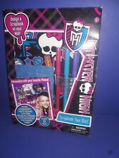 Monster High Doll Scrapbook Your Wall Gift Set Activity New in box
