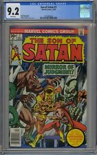 Son of Satan #7 CGC 9.2 NM- Wp Marvel Comics Bronze Age 1976 Gil Kane Cover RARE