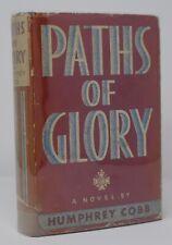 Humphrey Cobb - Paths of Glory - 1st 1st Basis Stanley Kubrick Film - Hcdj