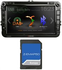 ZENEC Z-E2050 Naviceiver Bluetooth CD DVD USB DAB+ Digitalradio Navigation