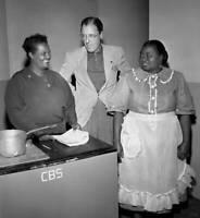 OLD CBS RADIO PHOTO The Beulah Show A Cbs Radio Comedy Hattie McDaniel 2