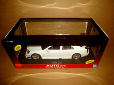 1/18 AUTOart Cadillac CTS-V plain body version white color (doors can't open)