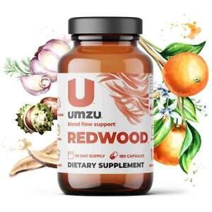 UMZU REDWOOD Supplement: Nitric Oxide Booster & Circulatory Support