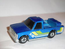 HOT WHEELS 1984 BLUE THUNDER X-15 CRACK UP TRUCK