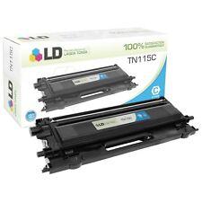 LD Remanufactured Brother TN115C High Yield Cyan Laser Toner Cartridge
