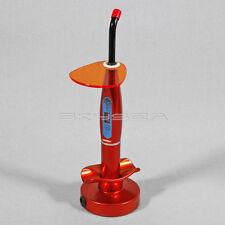 Red Dentista LED Lampada fotopolimerizzante Polimerizzatrice Curing Light 1400MW