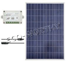 100W Solar Panel Bundle Kit:100W Power For 12V RV Boat Camping Battery Charger