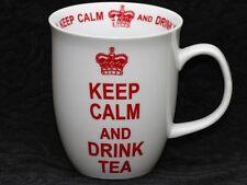 CREATIVE TOPS KEEP CALM And DRINK TEA WHITE Porcelain Mug
