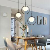 Bar Lamp Black Pendant Lights Kitchen Chandelier Lighting Bedroom Ceiling Light