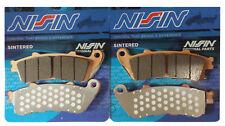 2P-250 NISSIN PASTIGLIE FRENO ANTERIORI SINTER HONDA STX PAN EUROPEAN 1300 02-14