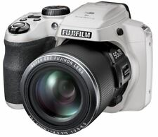 "Fujifilm Finepix S9900w WIFI BIANCO DIGITALE BRIDGE CAMERA ""DSLR stile"" Natale"
