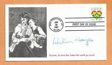 HELEN HAYES 1st LADY OF ACTRESSES JAN 30,1987 SAN FRAN SIGNED  VINTAGE COVER *
