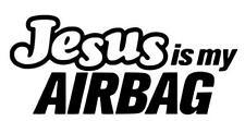 Jesús es mi Airbag Funny Caravan Swift Bailey Novedad Vinilo calcomanía adhesivo