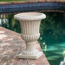 Concrete Garden Pots Concrete garden baskets pots window boxes ebay urn planter workwithnaturefo