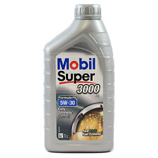 Mobil Super 3000 X1 FE 5W-30 Fully Synthetic Engine 5W30 Motor Oil 1 Litre 1L