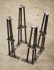 """Industrial Metal Table Legs- 1/2""""- Set of 4"""