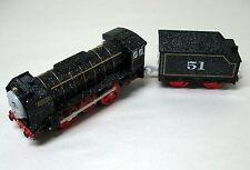 Thomas & Friends, Trackmaster  HIRO, SNOW SPECKED, , Mattel, 2009, EUC