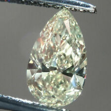 10 X 7 MM 2 Carat Light Yellow Pear Tear Drop Cut Loose Moissanite Use For Ring