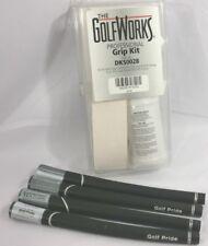 NEW Golf Pride Tour Velvet Super Tack Diamond Texture Standard Grips w/ Grip Kit