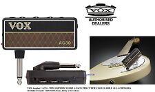VOX Amplug 2 AC30 MINI AMPLIFICATORE A JACK PER CUFFIE ALLA CHITARRA + EFFETTI