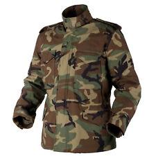 HELIKON TEX US M65 Jacke Army Military Field Jacket woodland camouflage XLarge